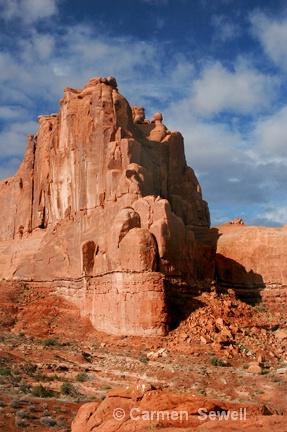 Red Rock Formation, Utah - ID: 7426961 © Carmen B. Sewell