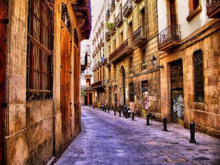 Street in Barcelona