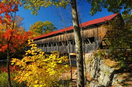 Covered Bridge,NH