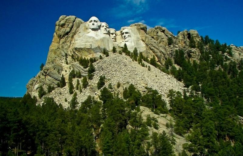 Mt. Rushmore, South Dakota - ID: 7482918 © Denny E. Barnes