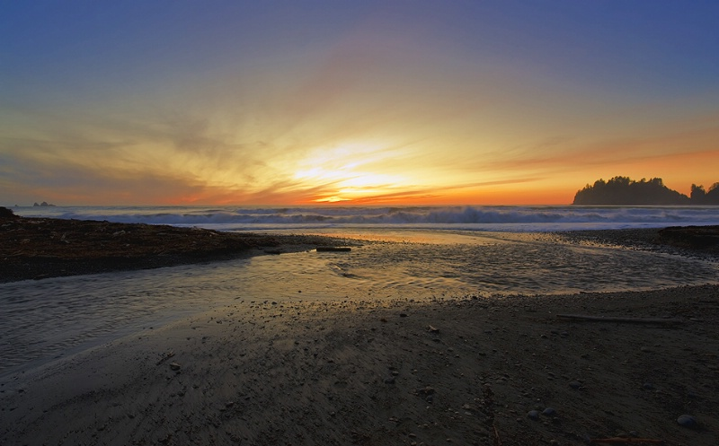 quileute sunset
