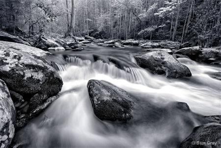 Tremont Rapids - B+W