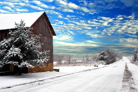 Winter on Hafeman Rd