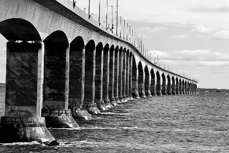 Confederation Bridge,P.E.I.  Canada