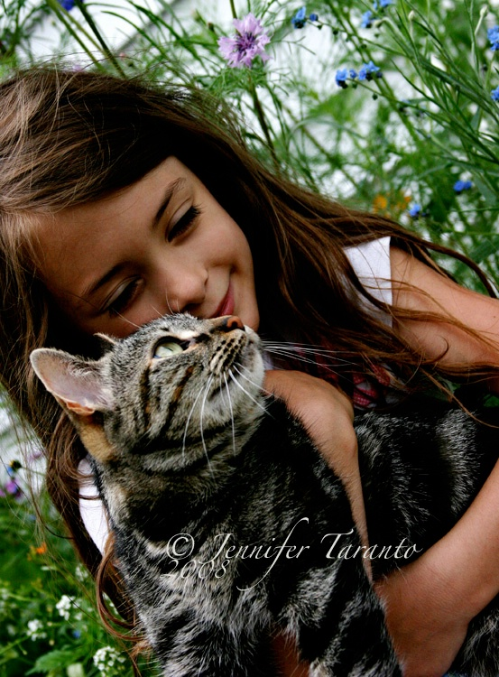 ~Ashley and Her Furry Friend~
