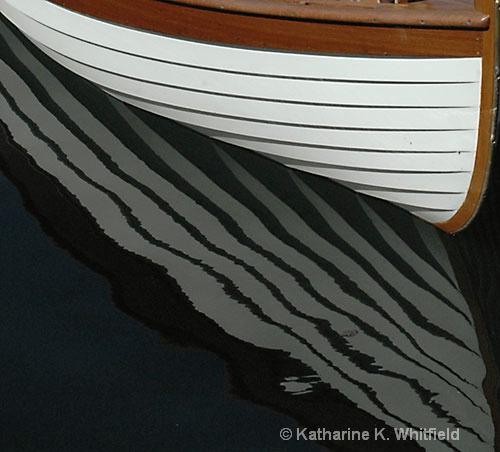 Boat Reflection 2 - ID: 7658281 © Kathy K. Whitfield