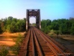 a railroad bridge