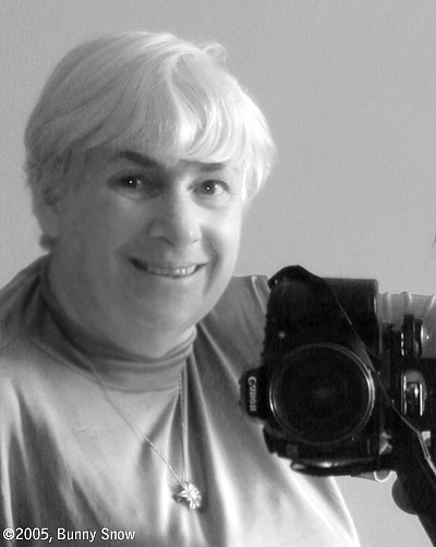 self portrait of my first Canon SLR and me.