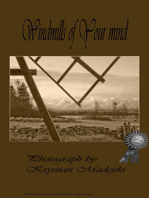 Windmills of Your mind - poster 2nd place - ID: 7698827 © Krystian Madejski