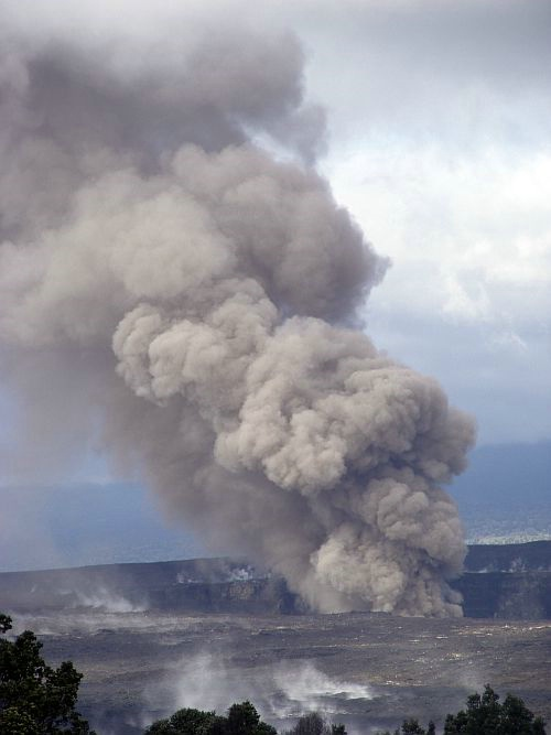 Vog Plume at Volcanoes National Park - ID: 7718237 © Amy G. McMillan