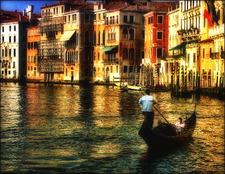 Venetian Gondola Rider