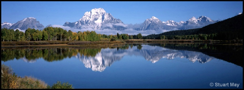 grand teton reflection - ID: 7750297 © Stuart May