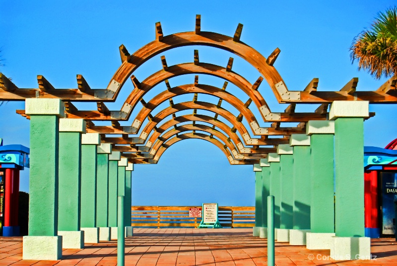 Pergola at the Beach