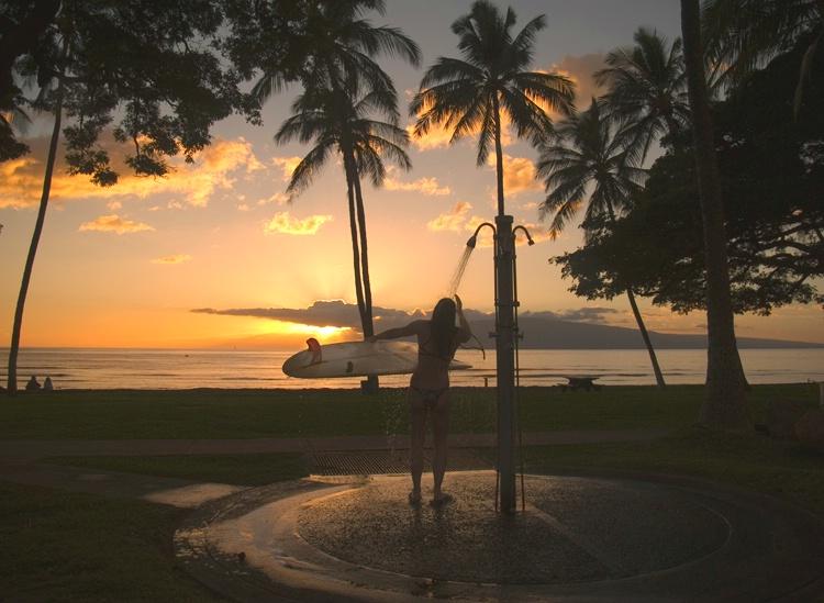 Lahina Maui Surfer Girl - Sunset mode - ID: 7769724 © Daryl R. Lucarelli