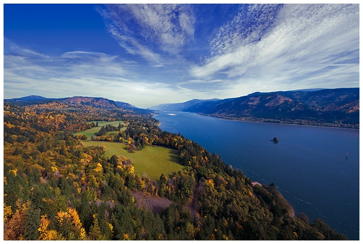 cape horn fall view