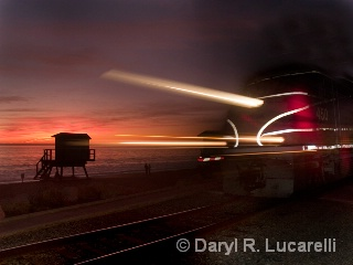 SC Sunset Train - ID: 7779342 © Daryl R. Lucarelli
