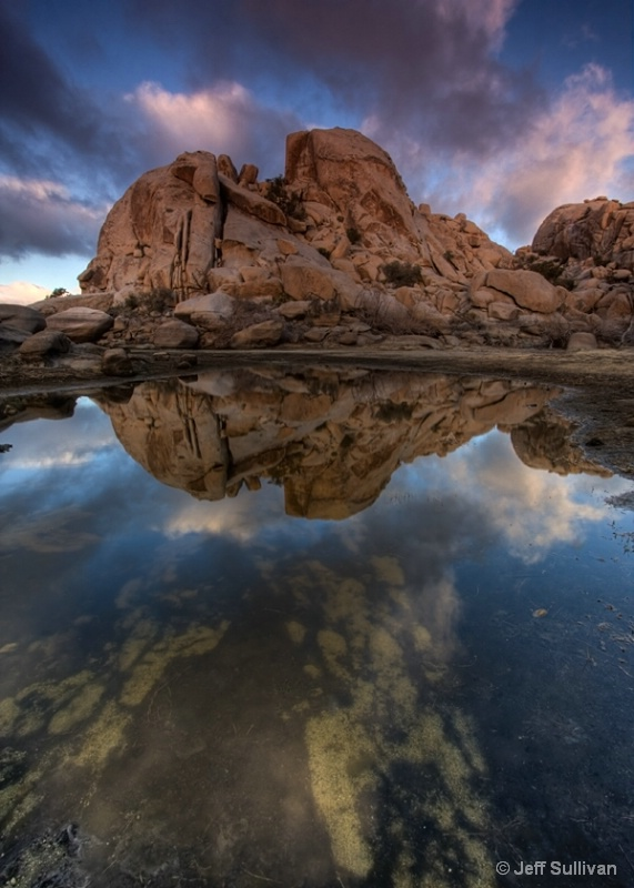 Barker Dam Reflection