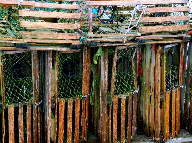 Lobster Traps, Old Style