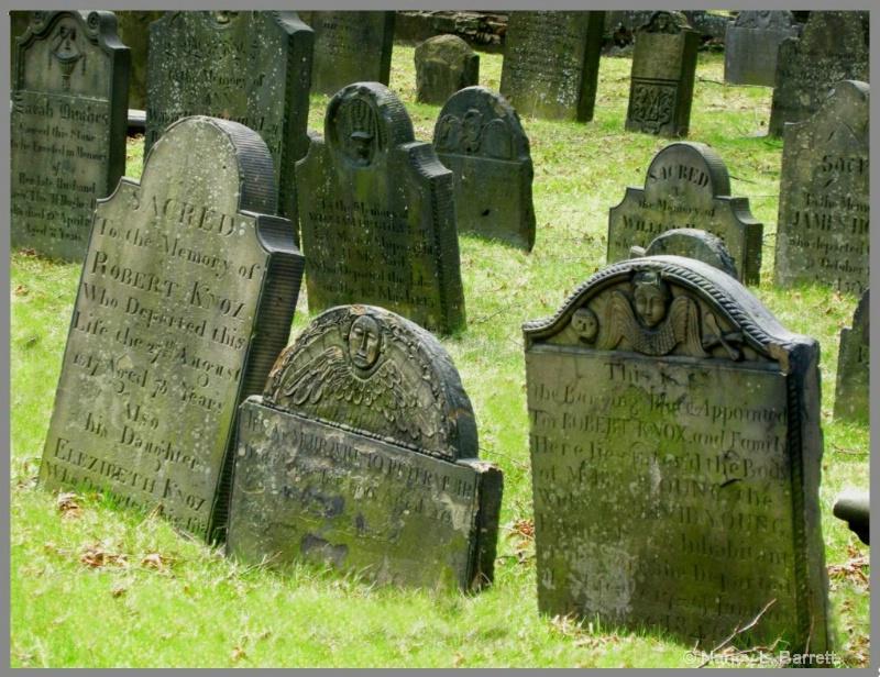 Old Burying Ground, Halifax, c. 1749