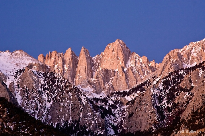 Mt. Whitney at Dawn