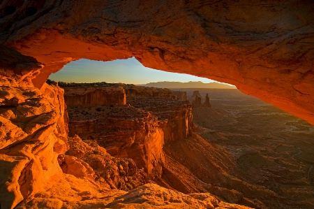 Morning at Mesa Arch
