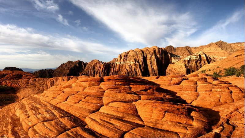 Snow Canyon Early Morning