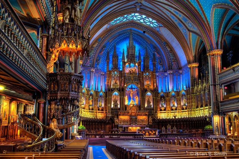 Notre Dame Basillica Montreal