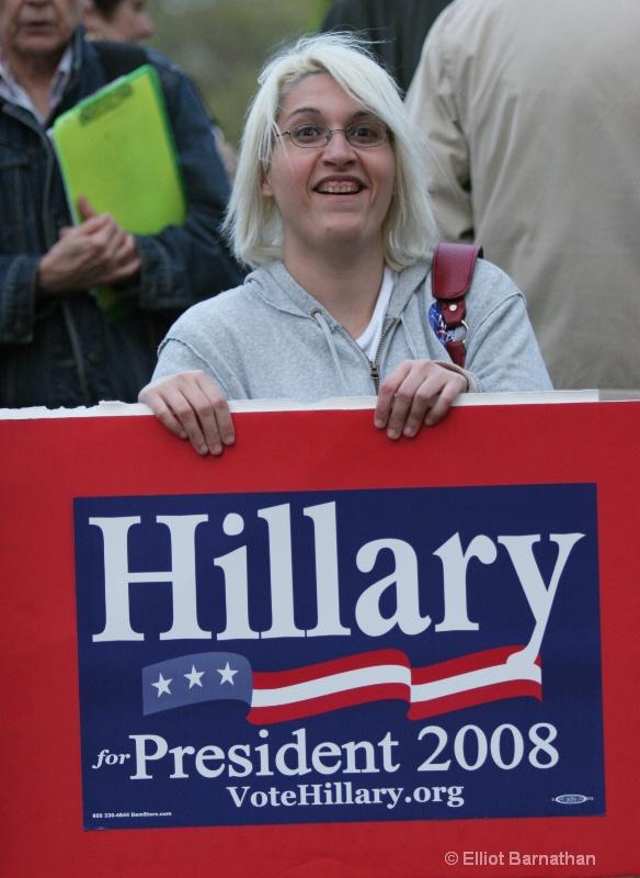 Hillary Rally 2 - ID: 7827436 © Elliot S. Barnathan