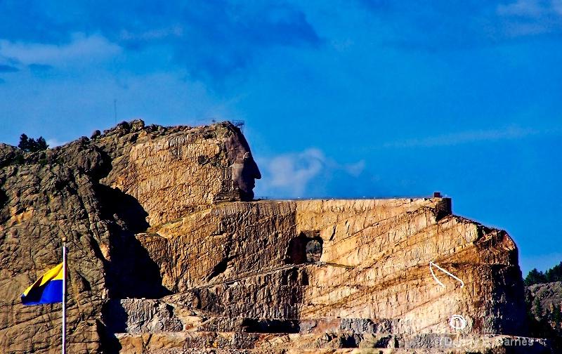 Crazy Horse Memorial, South Dakota - ID: 7842355 © Denny E. Barnes