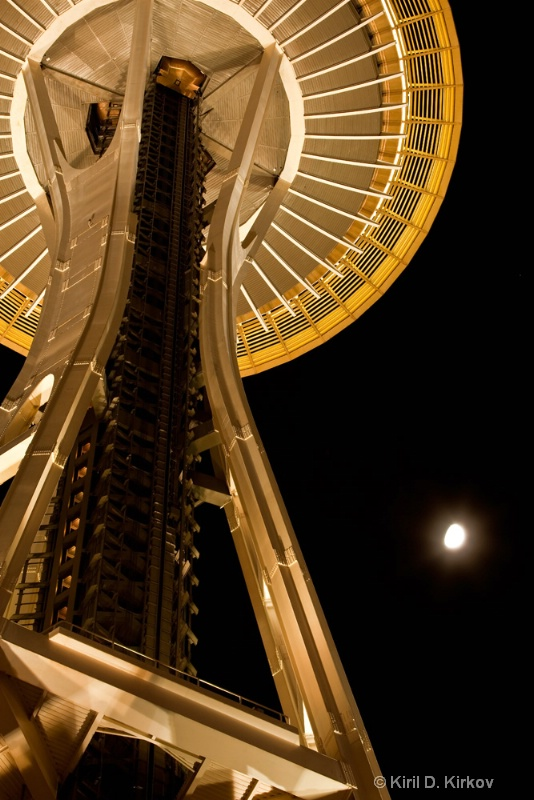 Space Needle10 - ID: 7845320 © Kiril Kirkov