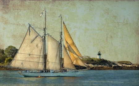 Schooner Sail