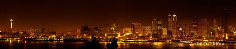 Seattle by Night1 - ID: 7863406 © Kiril Kirkov