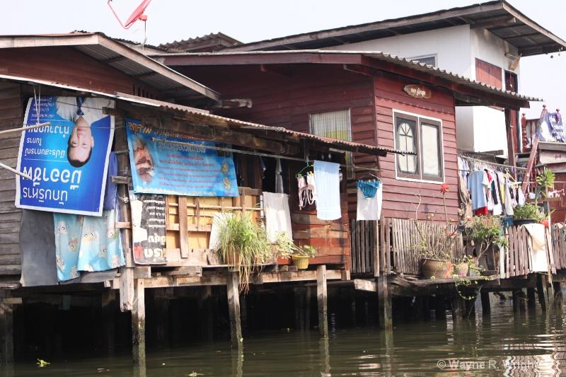 homes along the klongs 3 - ID: 7874983 © Wayne R. Wright