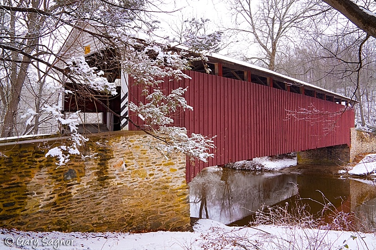 Mercers Covered Bridge