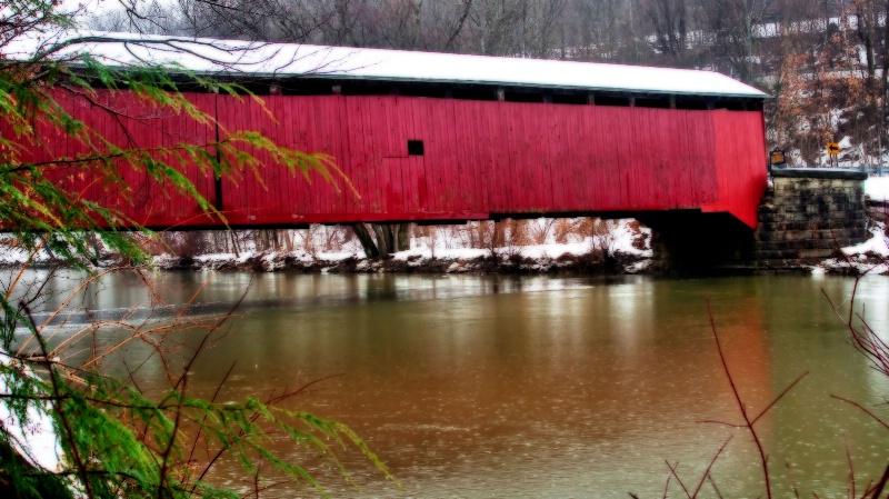 Mcgee Mills Covered Bridge