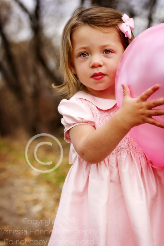 The pink balloon