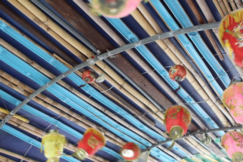 sampan roof - ID: 7928336 © Wayne R. Wright