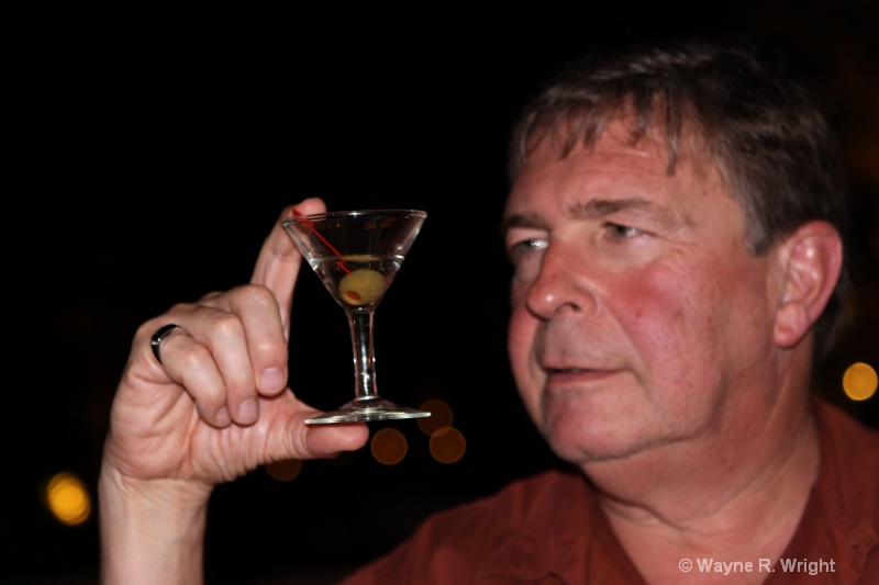 World's smallest  served martini glass - ID: 7928670 © Wayne R. Wright