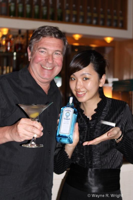 Hong Kong, Royal Garden, Martini Bar - ID: 7928682 © Wayne R. Wright