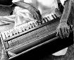 Playing harmonium