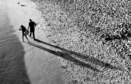 ~ ~ COUPLES FOOTPRINTS IN THE SAND ~ ~