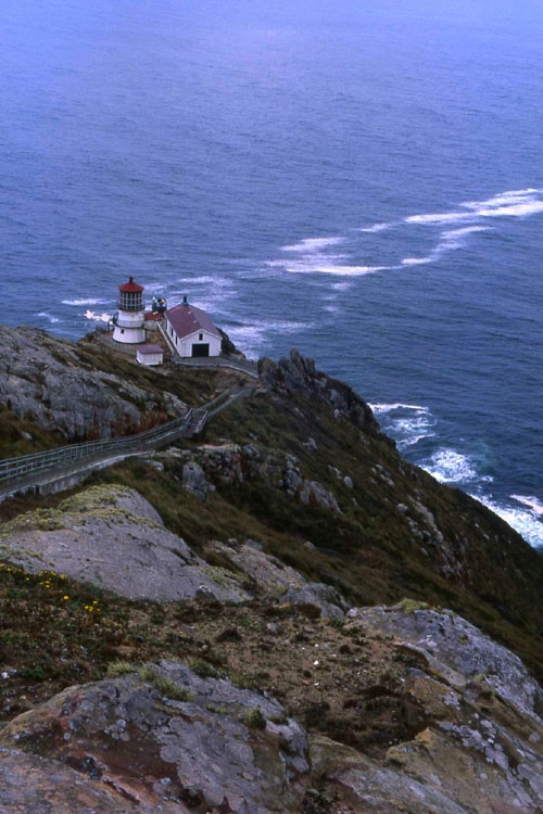 """Pt. Reyes Lighthouse"""