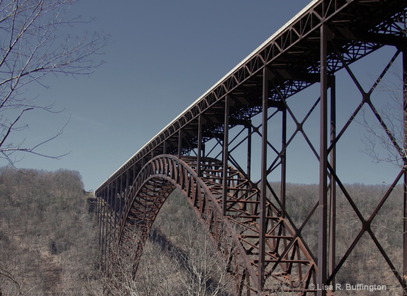 New River Gorge Bridge - ID: 8069200 © Lisa R. Buffington