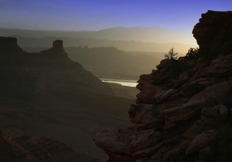 Periwinkle Blue Sunrise, Dead Horse Point
