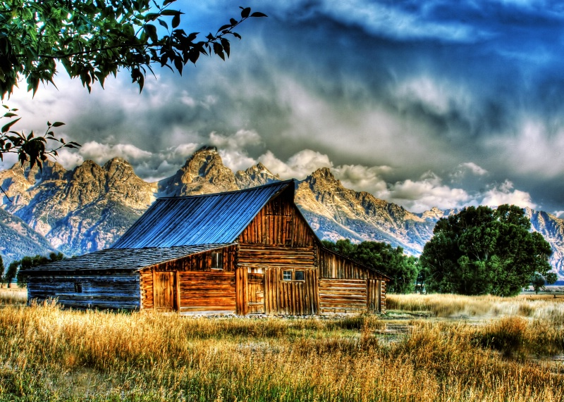 Barn View - ID: 8081709 © Joseph T. Pilonero
