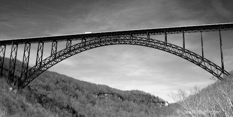 Over The Bridge - ID: 8109359 © Lisa R. Buffington