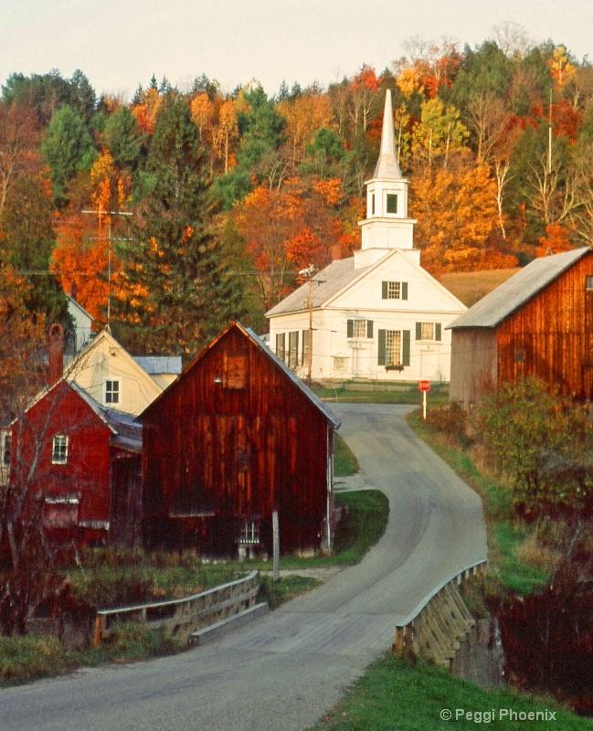 Vermont Town - ID: 8123213 © Peggi Phoenix