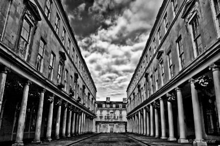 Bath House Columns - Bath U.K.