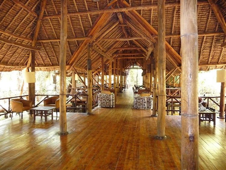 """Roughing It"" - Dinning Hall - Samburu R. - ID: 8137466 © Larry J. Citra"