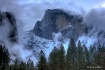 Half Dome in the ...